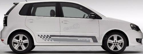 Adesivo Faixa Lateral Volkswagen Polo Racing Polo06
