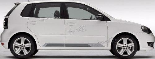 Adesivo Faixa Lateral Volkswagen Polo Sportline Polo11