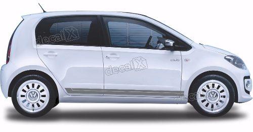 Adesivo Faixa Lateral Volkswagen Up Club Up04
