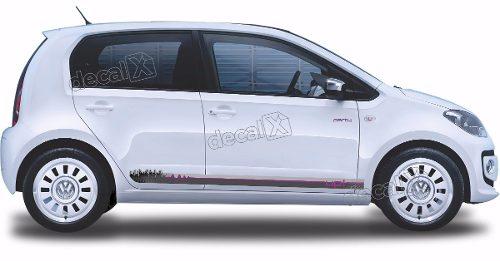 Adesivo Faixa Lateral Volkswagen Up Party Up07
