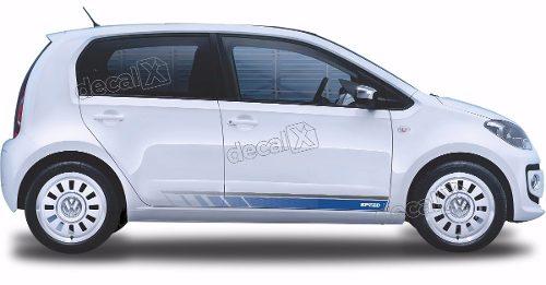 Adesivo Faixa Lateral Volkswagen Up Speed Up09