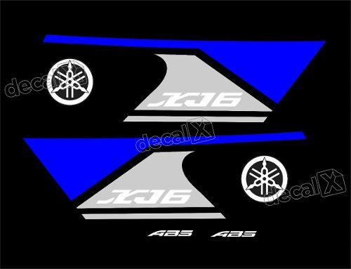 Kit Adesivo Yamaha Xj6n 2013 Xj6213