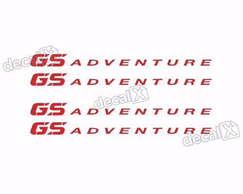 Kit Adesivo Refletivo Roda Moto Bmw Gs Adventure Fri036