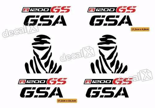 Kit Adesivo Bmw R1200gsa Dakar Rgsa01