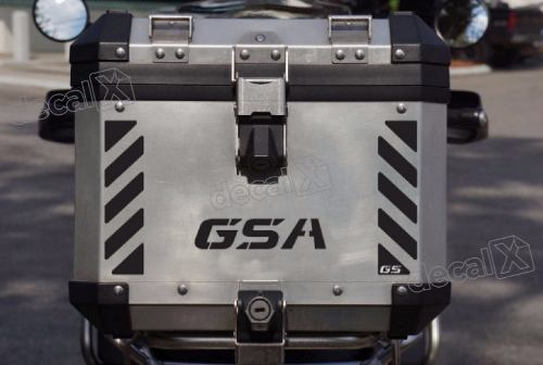Kit Adesivo Refletivo Traseiro Bau Bmw Gsa Gsa11