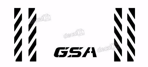 Kit Adesivo Refletivo Traseiro Bau Bmw Gsa Gsa10