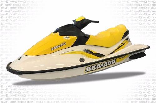 Kit Adesivo Jet Ski Sea Doo Gti Se 155 2007 Sd13