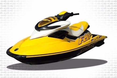Kit Adesivo Jet Ski Sea Doo Rxp 215 Amarelo 2009 Sd16