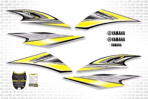 Kit Adesivo Jet Ski Yamaha Jp 1300r Jtki10
