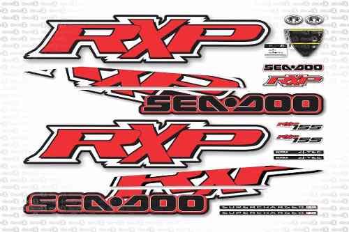 Kit Adesivo Jet Ski Sea Doo Rxp 155 Vermelho 2009 Sd7
