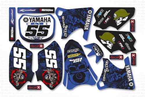 Kit Adesivo Moto Cross Trilha Yamaha Yz 250 426 2001 Mt019
