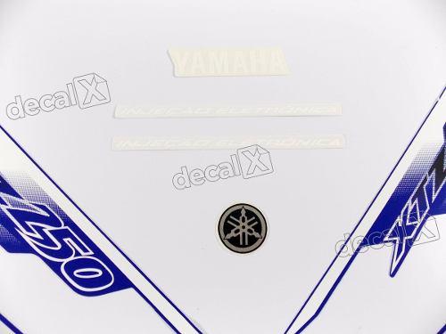 Kit Adesivos Lander 250 2007 Azul Resinado 10458