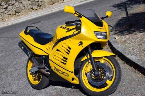 Kit Adesivos Suzuki Rf900 Rf 900 1995 Amarela Rf004