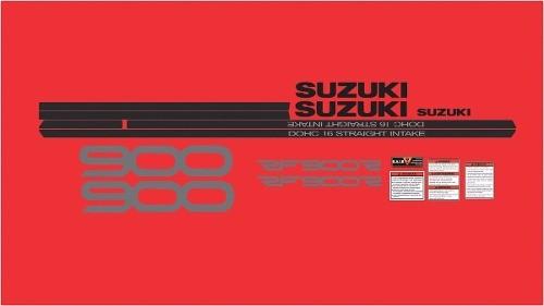 Kit Adesivos Suzuki Rf900 Rf 900 1995 Vermelha Rf006