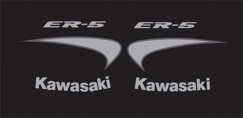Kit Adesivos Kawasaki Er-5n Preta Er5pre