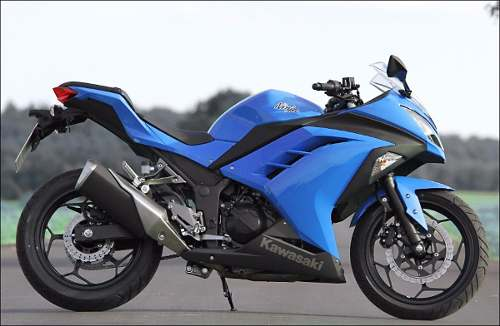 Kit Adesivo Kawasaki Ninja 300 Azul Nj001