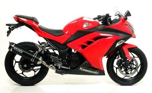 Kit Adesivo Kawasaki Ninja 300 Vermelha Nj007