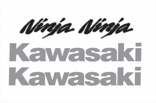 Kit Adesivo Kawasaki Ninja 300 Azul Nj008