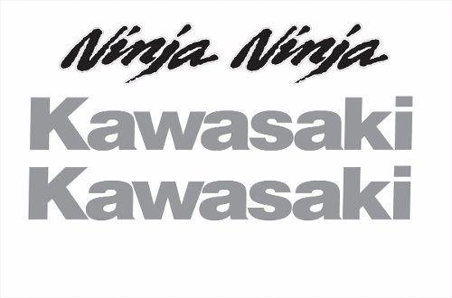 Kit Adesivo Kawasaki Ninja 300 Branca Nj009