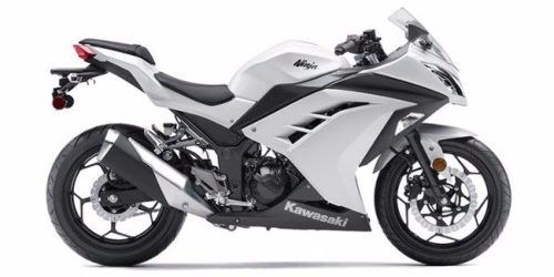 Kit Adesivo Kawasaki Ninja 300 Branca Nj010