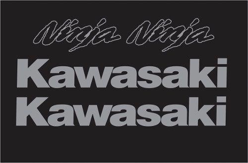 Kit Adesivo Kawasaki Ninja 300 Preta Nj012