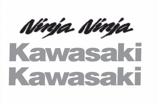 Kit Adesivo Kawasaki Ninja 300 Vermelha Nj014