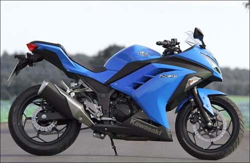Kit Adesivo Kawasaki Ninja 300 Zx-3r Azul Nj015