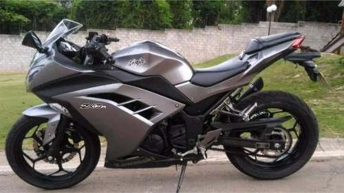 Kit Adesivo Kawasaki Ninja 300 Zx-3r Cinza Nj018