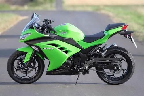 Kit Adesivo Kawasaki Ninja 300 Zx-3r Verde Nj020