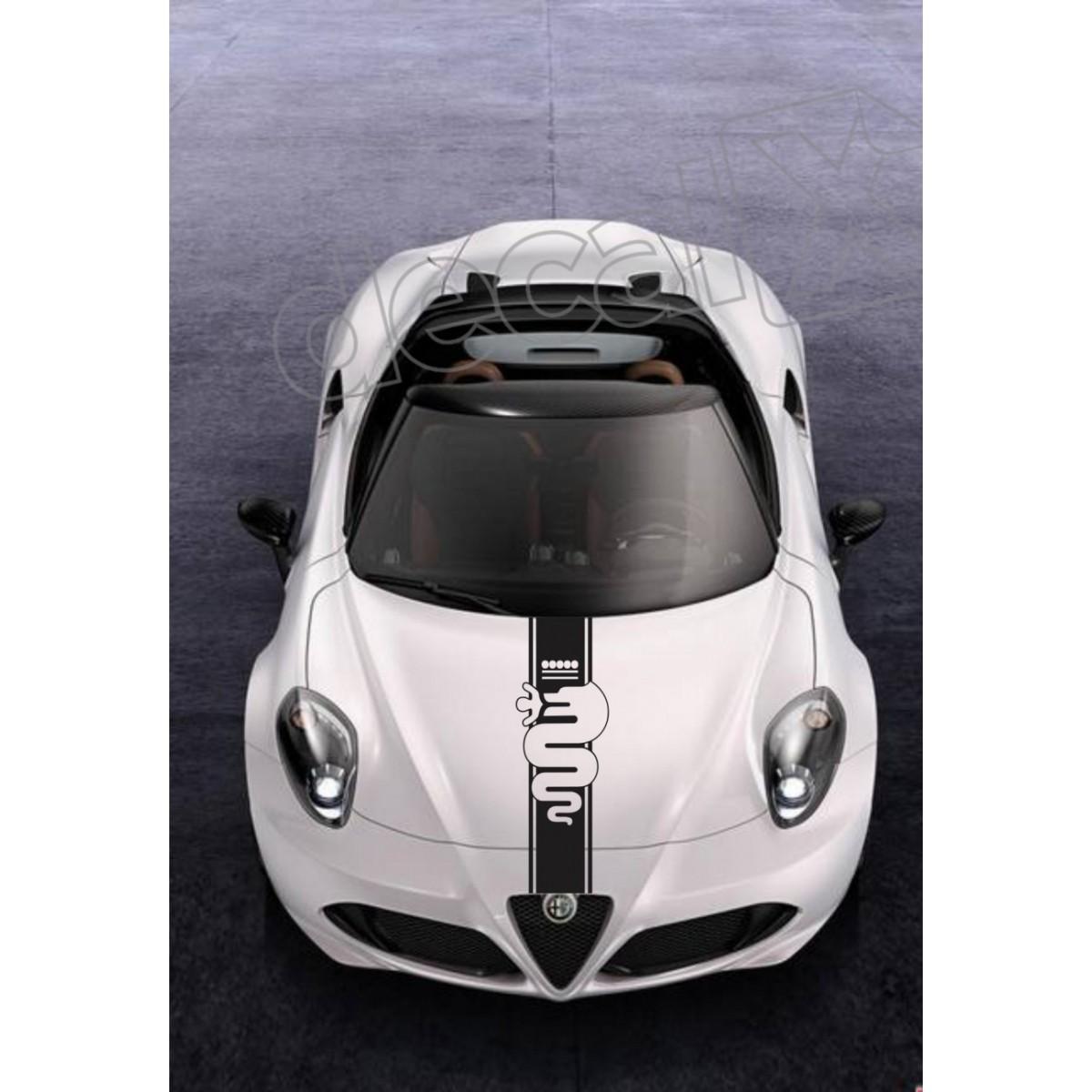 Adesivo Alfa Romeo Faixa Capo 3m Ct03