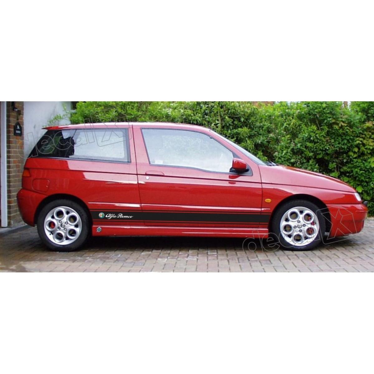 Adesivo Alfa Romeo Faixa Lateral 3m 1450