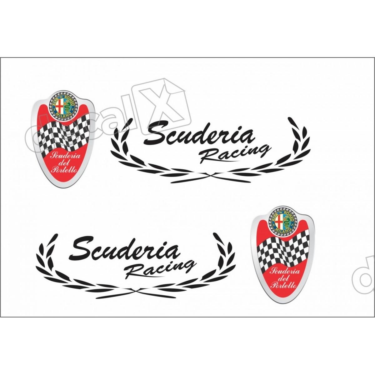 Adesivo Alfa Romeo Faixa Lateral 3m 1452