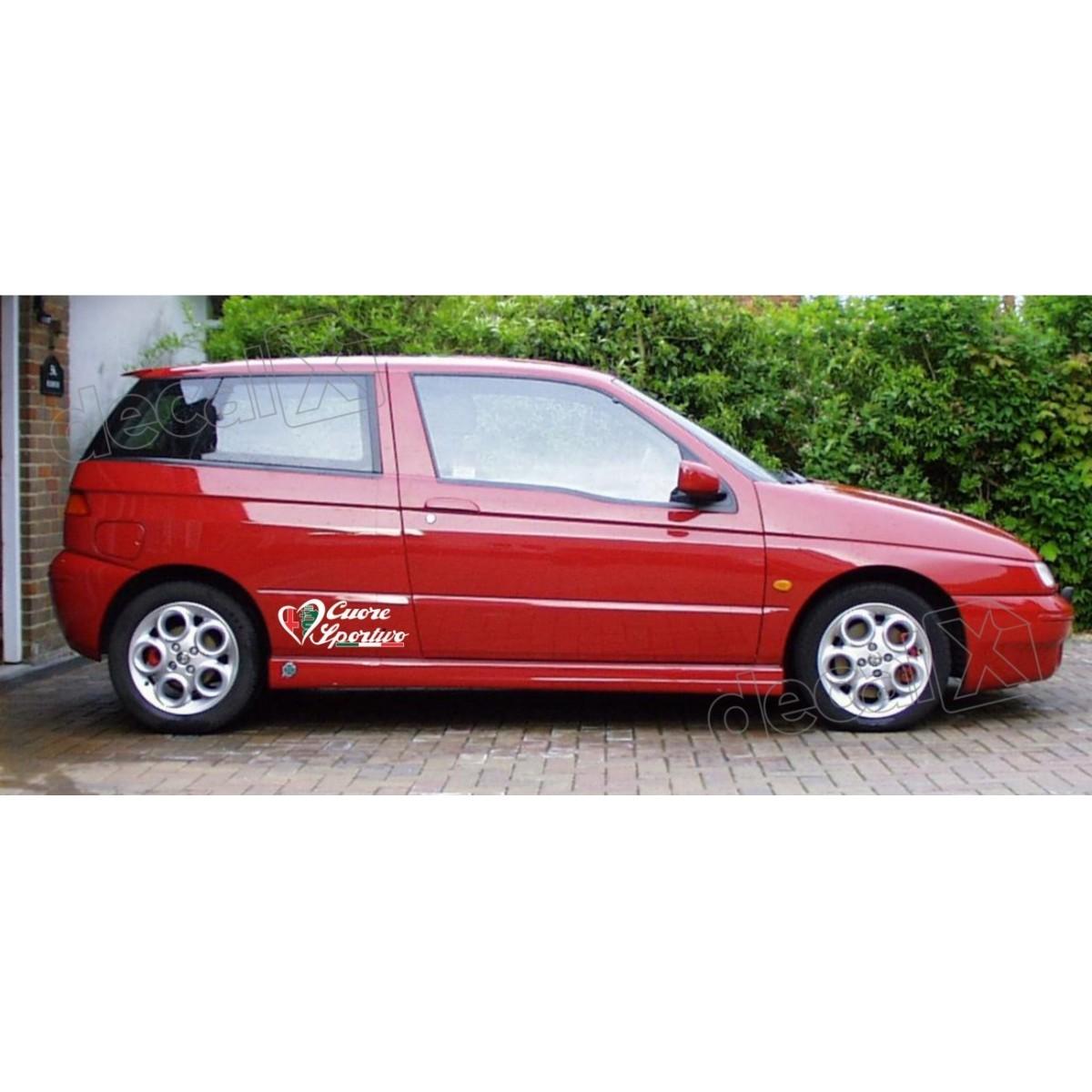 Adesivo Alfa Romeo Faixa Lateral 3m 1453