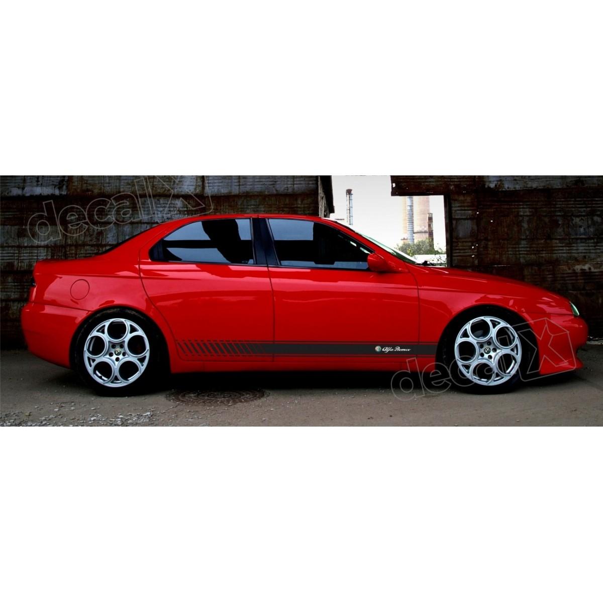 Adesivo Alfa Romeo Faixa Lateral 3m 1560