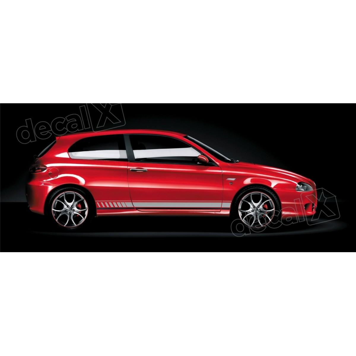 Adesivo Alfa Romeo Faixa Lateral 3m Fa01