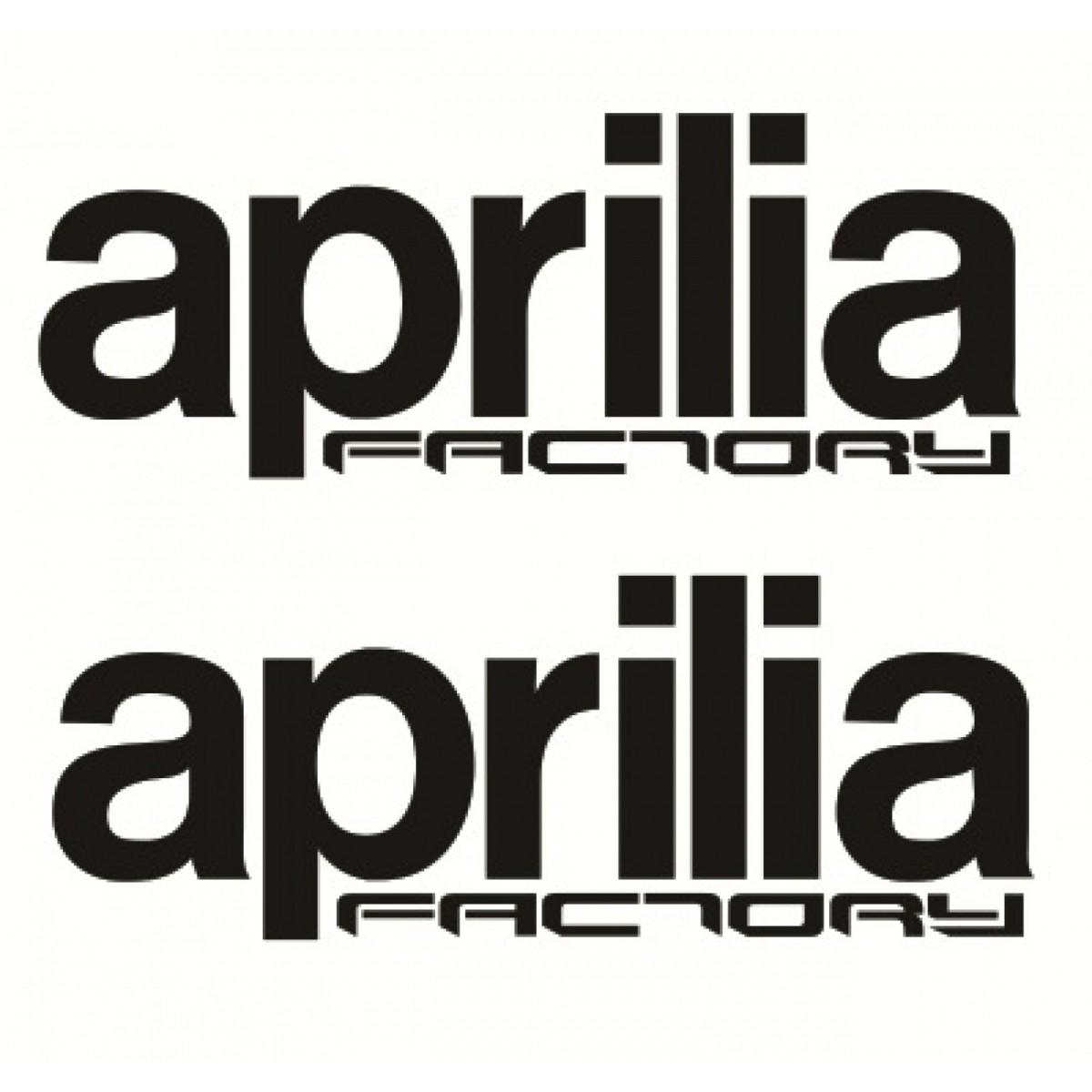Adesivo Aprilia Factory Decalx