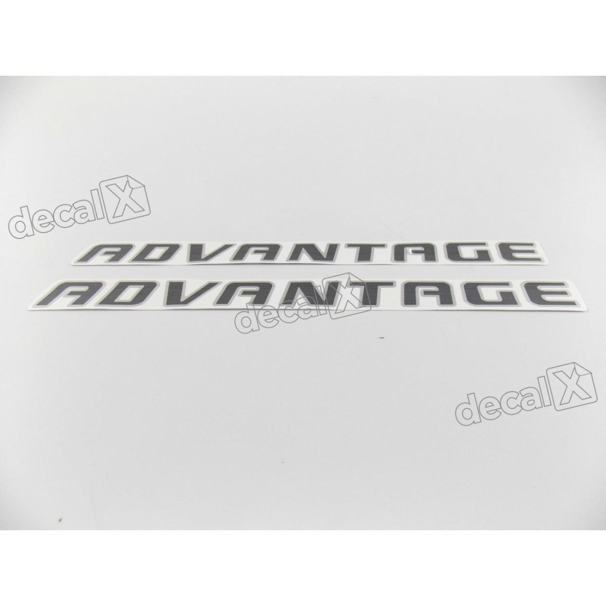 Adesivo Blazer Advantage Aço Escovado Ba003