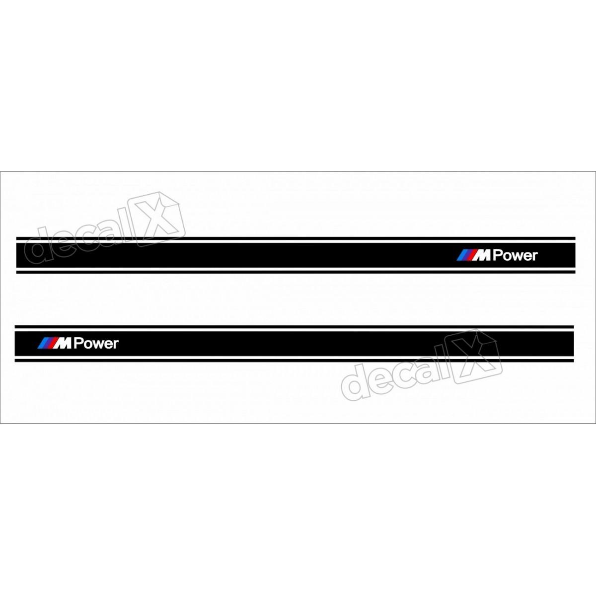 Adesivo Bmw Faixa Lateral Serie 3 Bw11