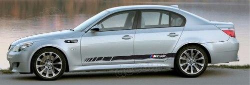 Adesivo Bmw Faixa Lateral Serie 3 Power Bw30