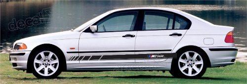Adesivo Bmw Faixa Lateral Serie 3 Power Bw32