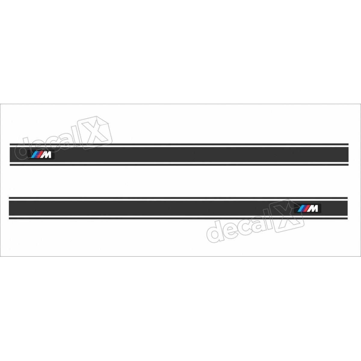 Adesivo Bmw Faixa Lateral X1 Bw8