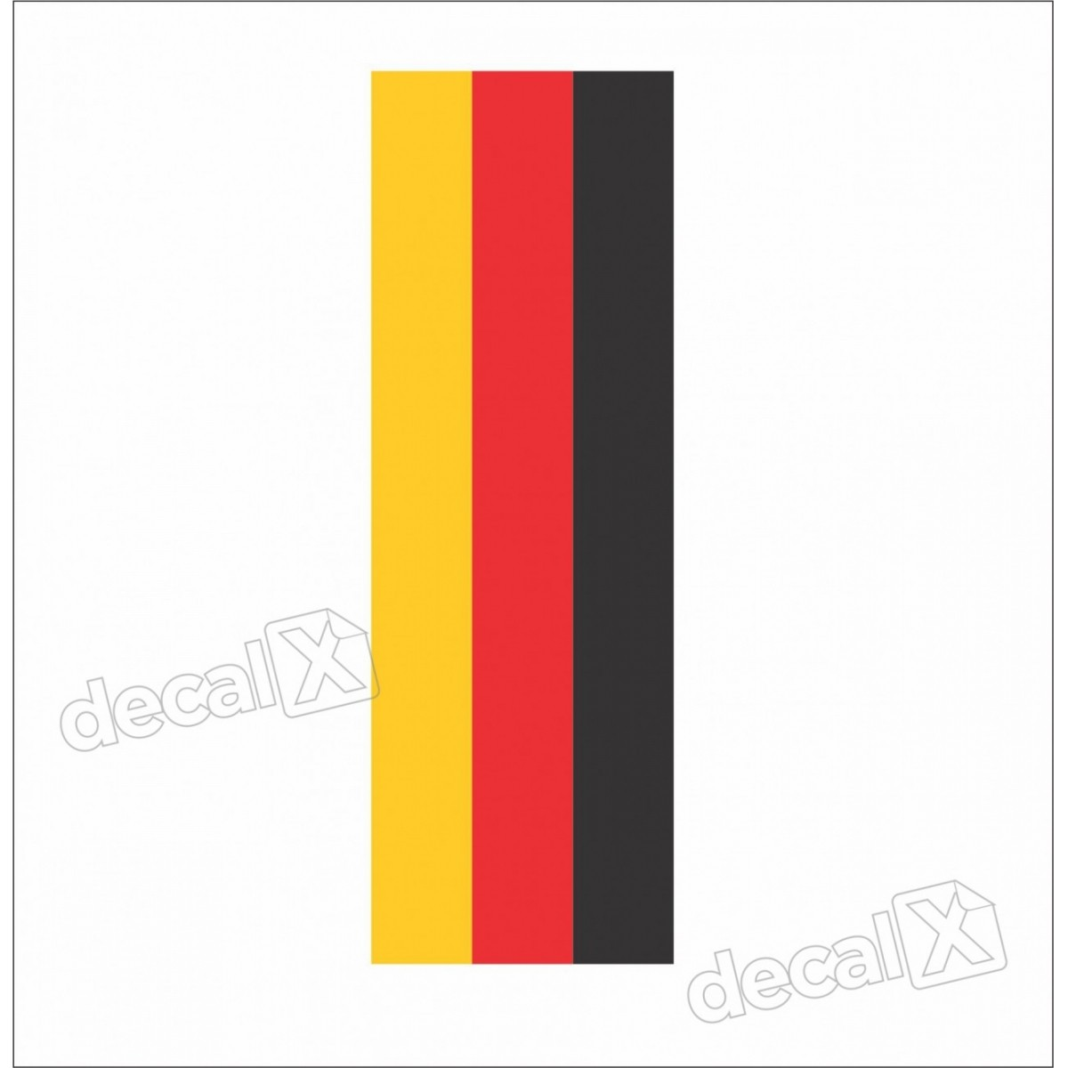 Adesivo Bmw Faixa Tricolor Alemanha Paralama Decalx