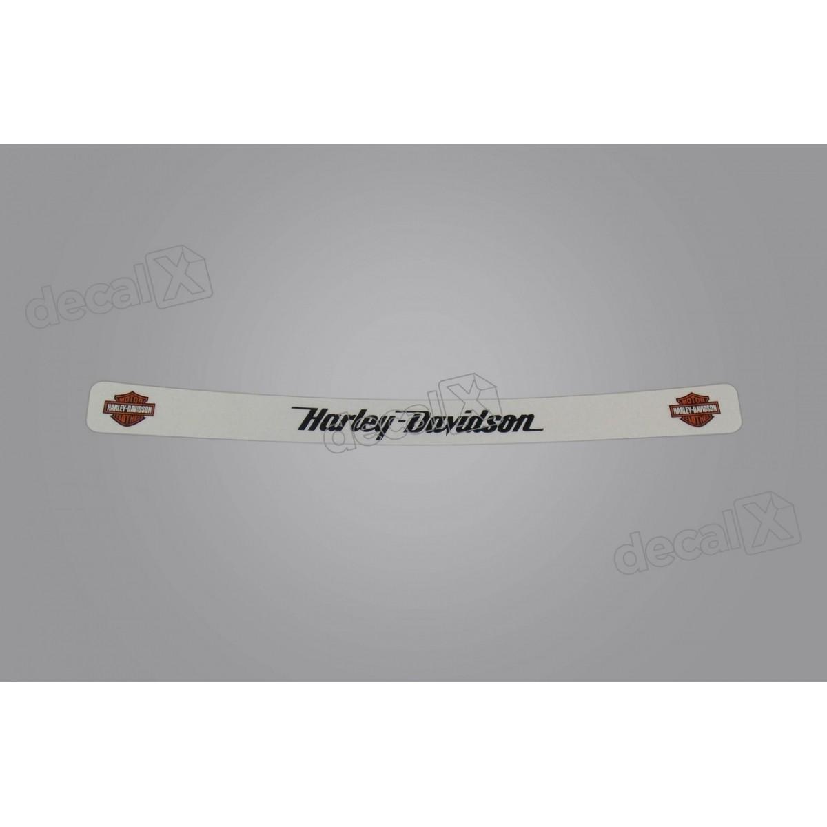 Adesivo Capacete Viseira Refletivo Harley Davidson Vis24