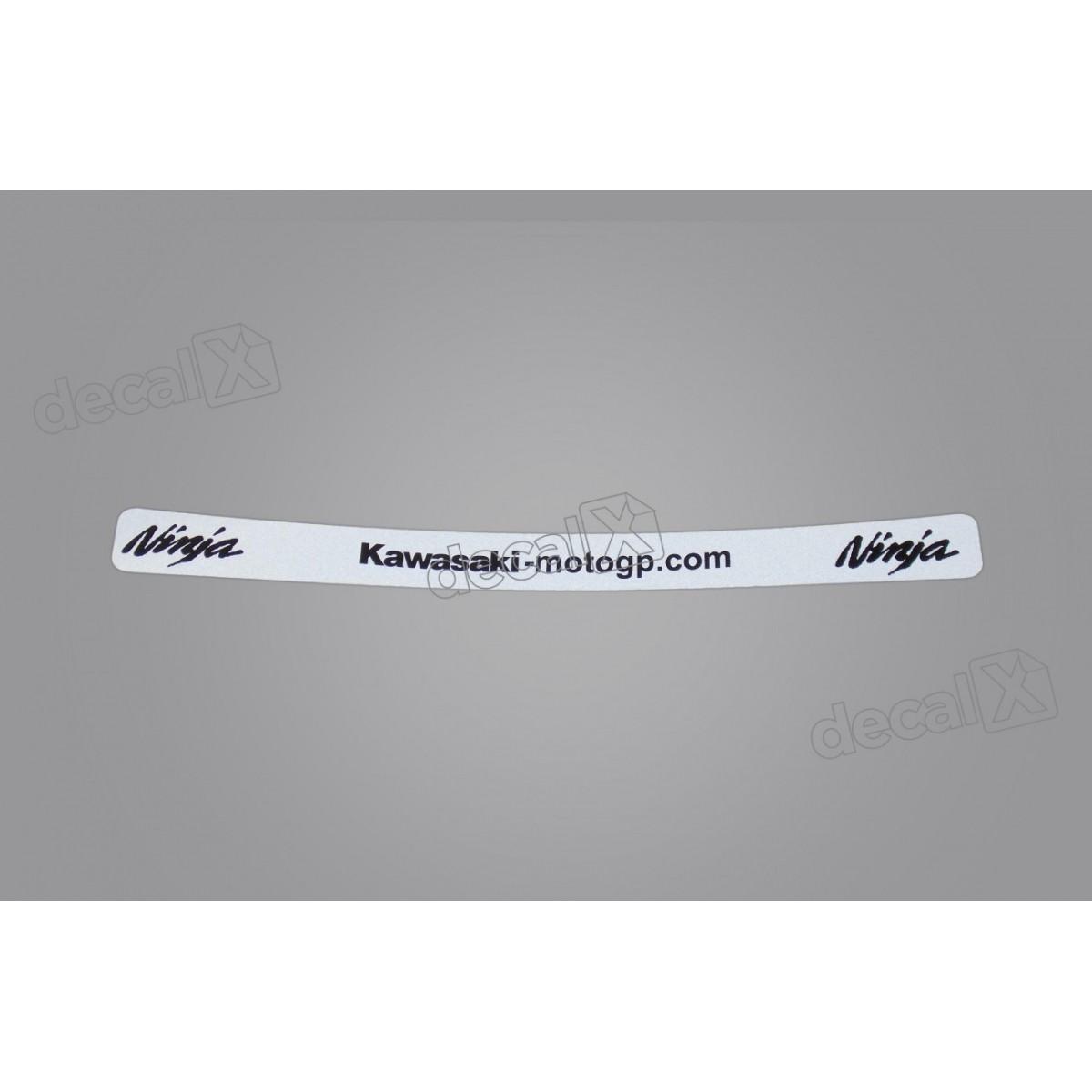 Adesivo Capacete Viseira Refletivo Kasinski 22x2 Cms Vis02