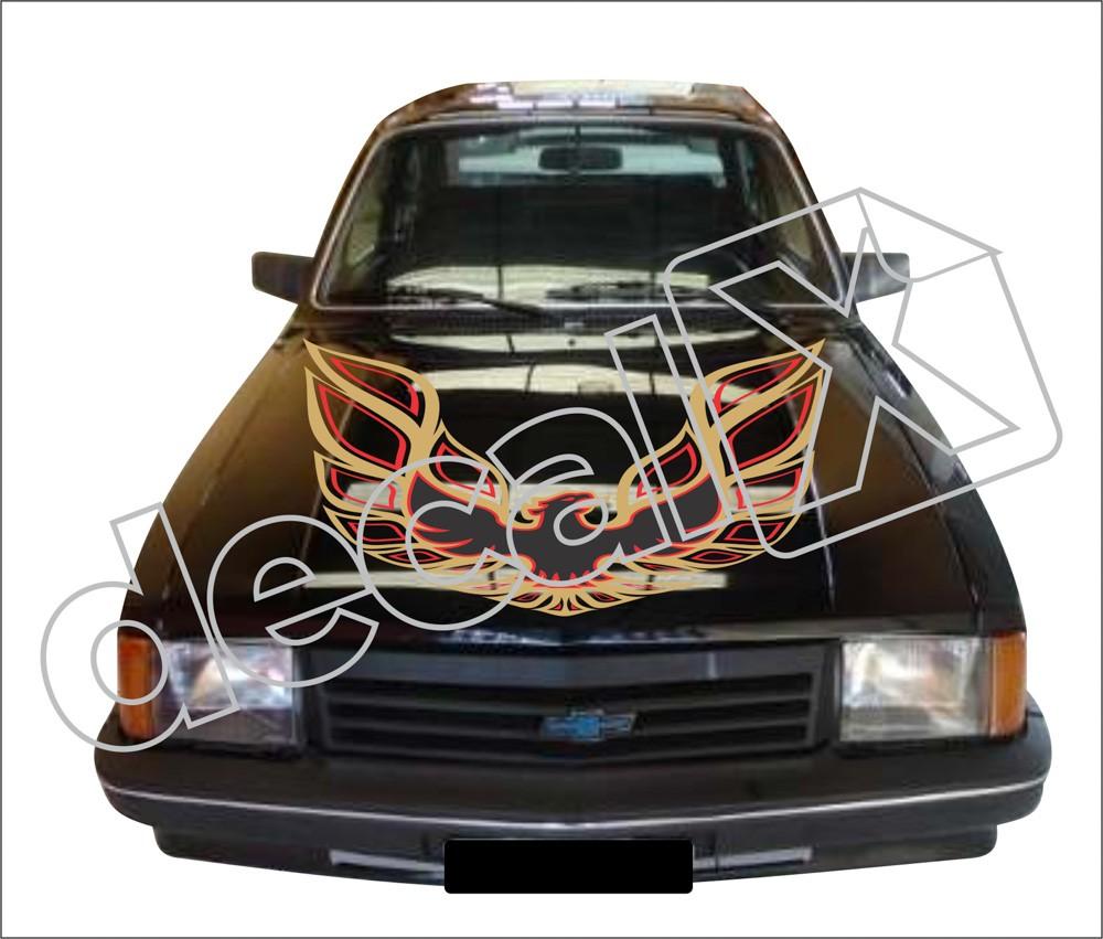 Adesivo Capo Chevrolet Chevette Cp1001