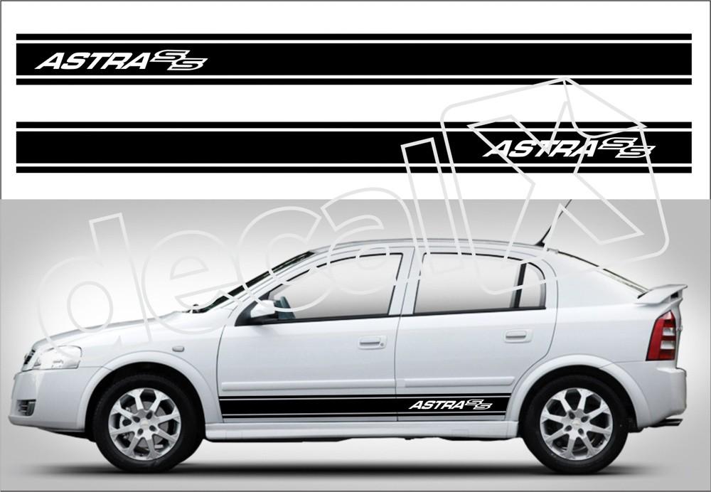 Adesivo Chevrolet Astra Faixa Lateral 3m At001