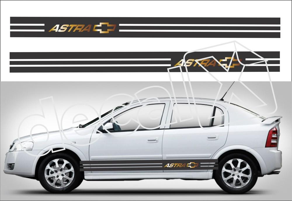 Adesivo Chevrolet Astra Faixa Lateral 3m At007