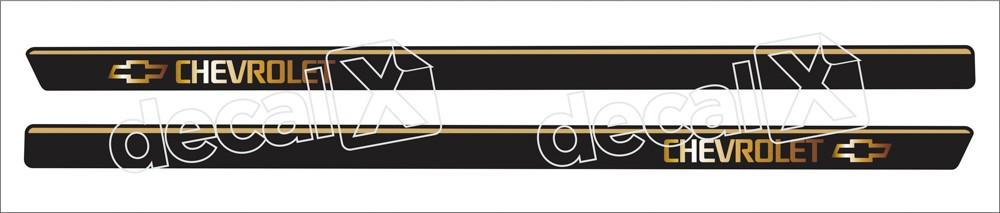 Adesivo Chevrolet Captiva Faixa Lateral Cap002