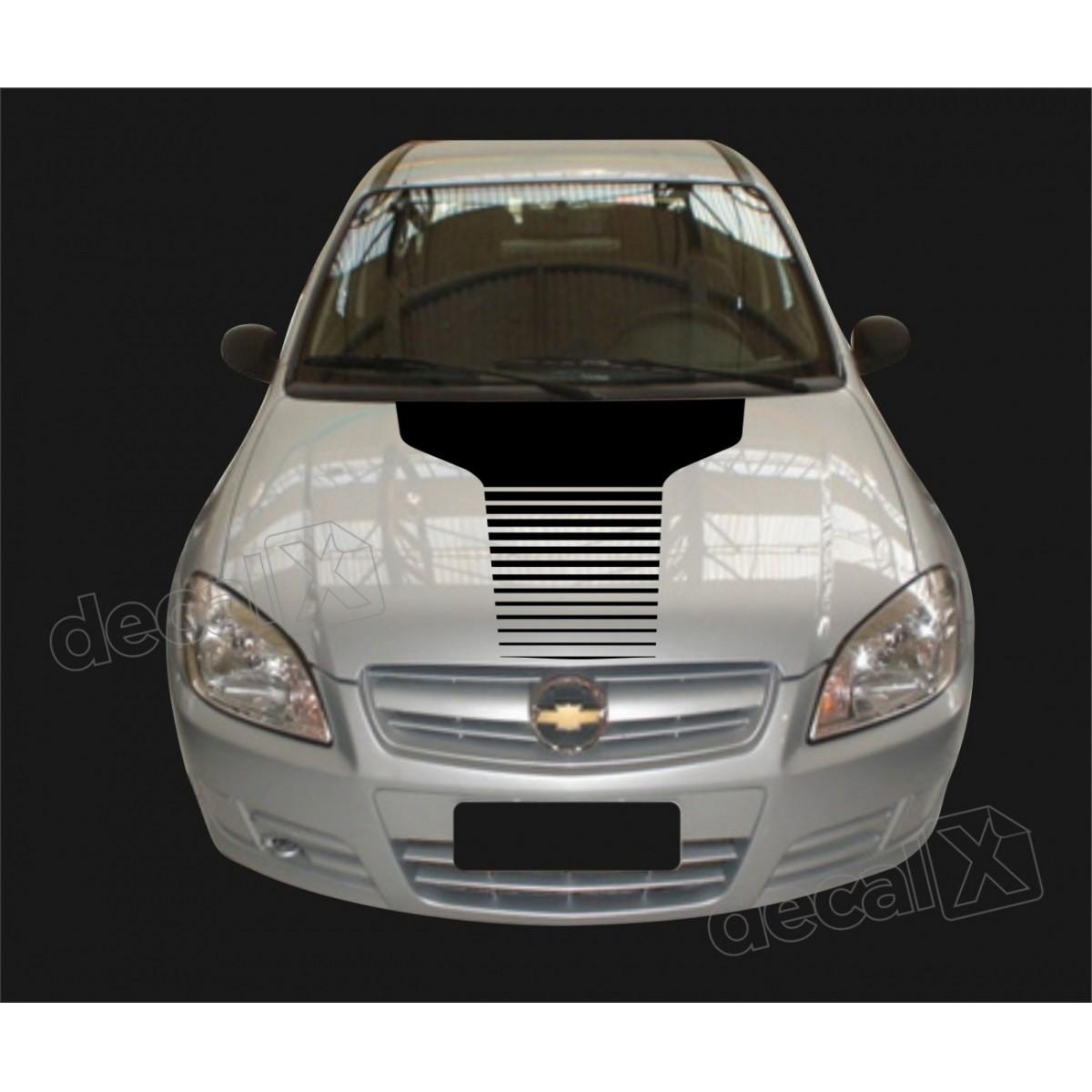 Adesivo Chevrolet Celta Faixa Capo 3m Ctm503
