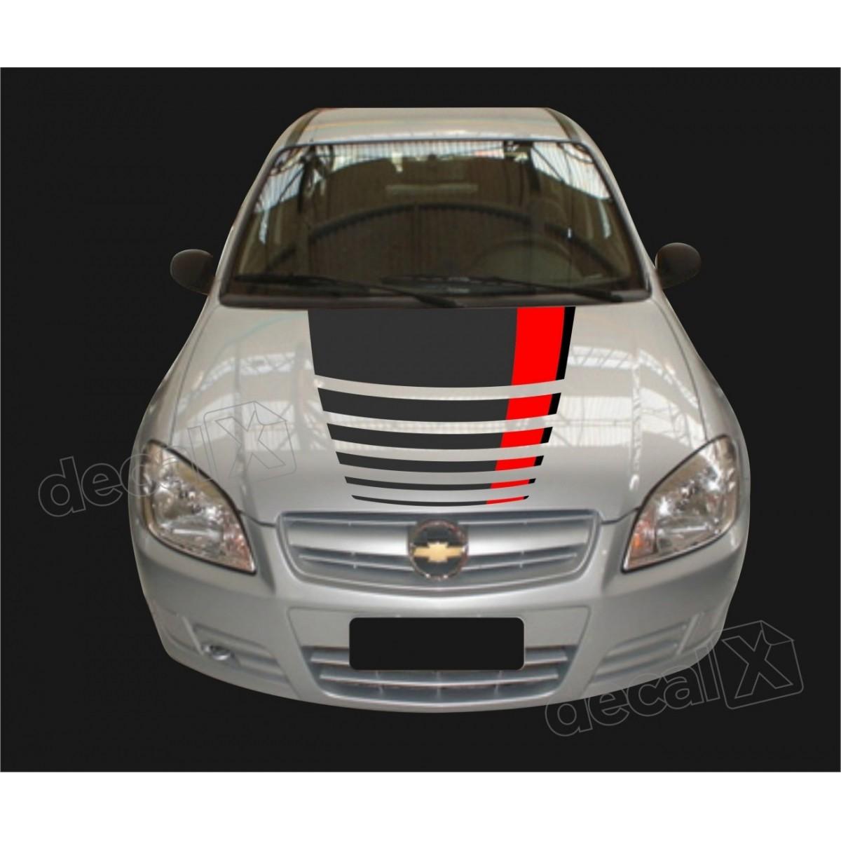 Adesivo Chevrolet Celta Faixa Capo 3m Ctm505